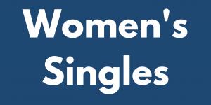 Women's Singles